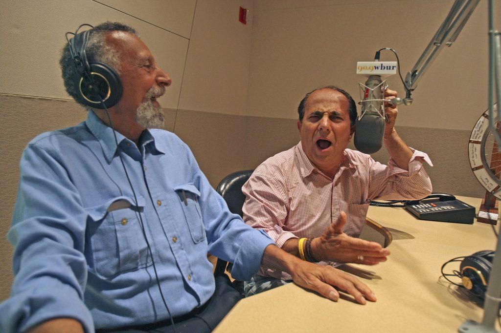 "Ray and Tom Magliozzi of WBUR's ""Car Talk"""