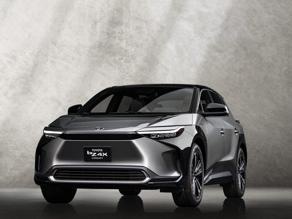 Toyota bZ4x Electric Concept Car