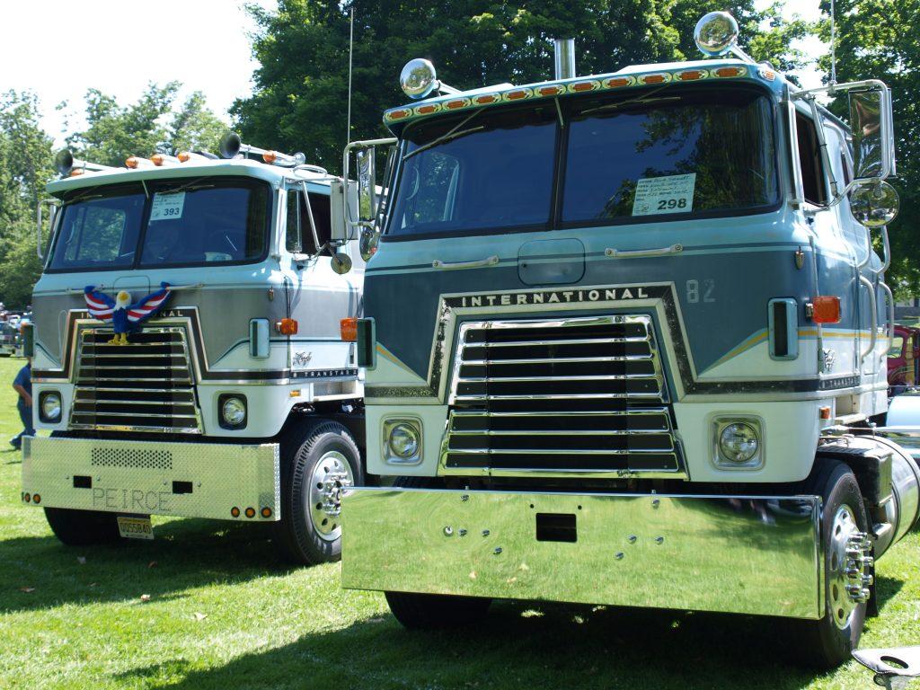 International Transtar Classic Semi Trucks