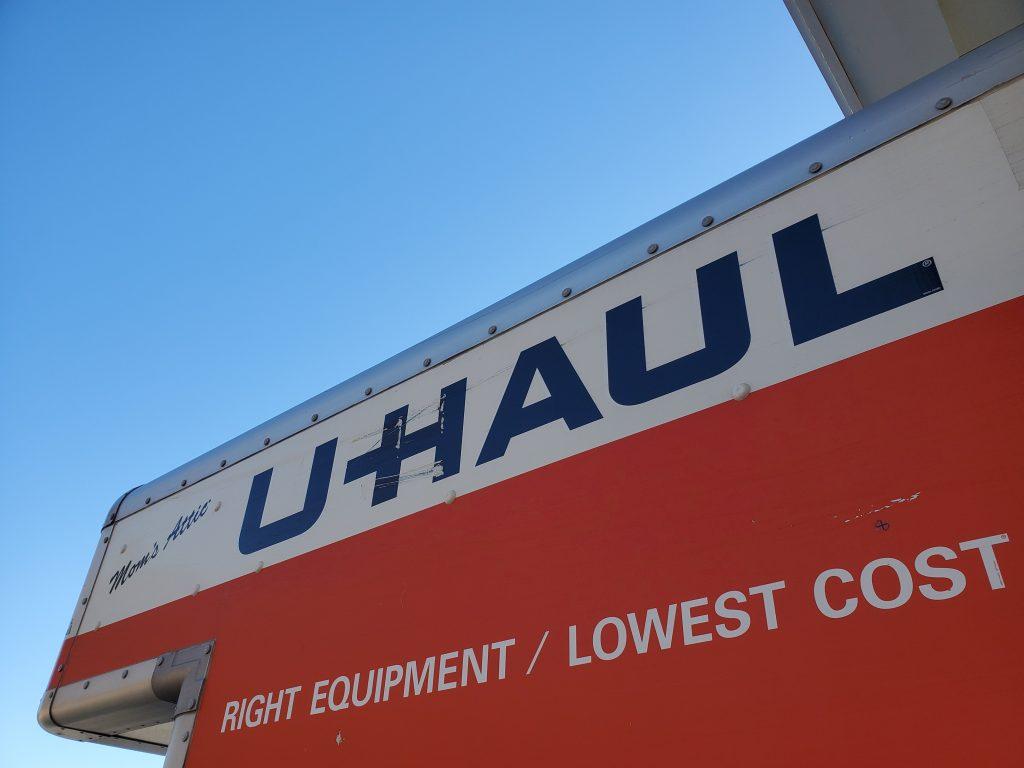 U-Haul Logo On Truck