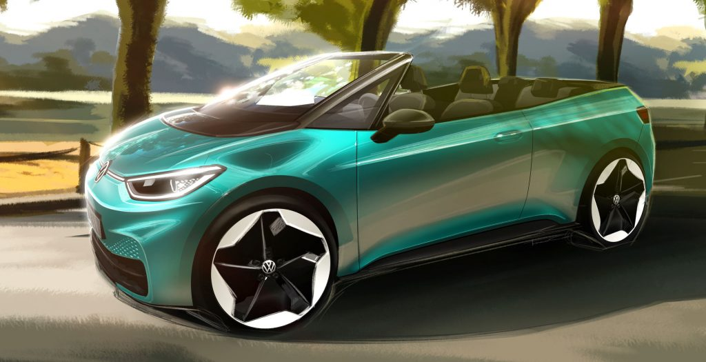 Volkswagen ID.3 concept convertible | VW