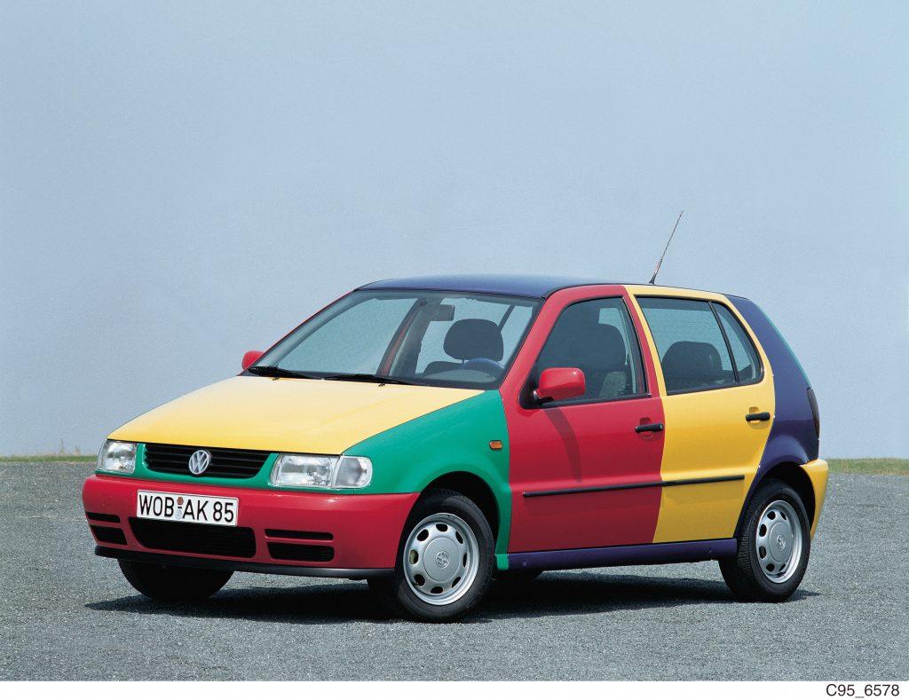 1995 Volkswagen Polo Harlequin