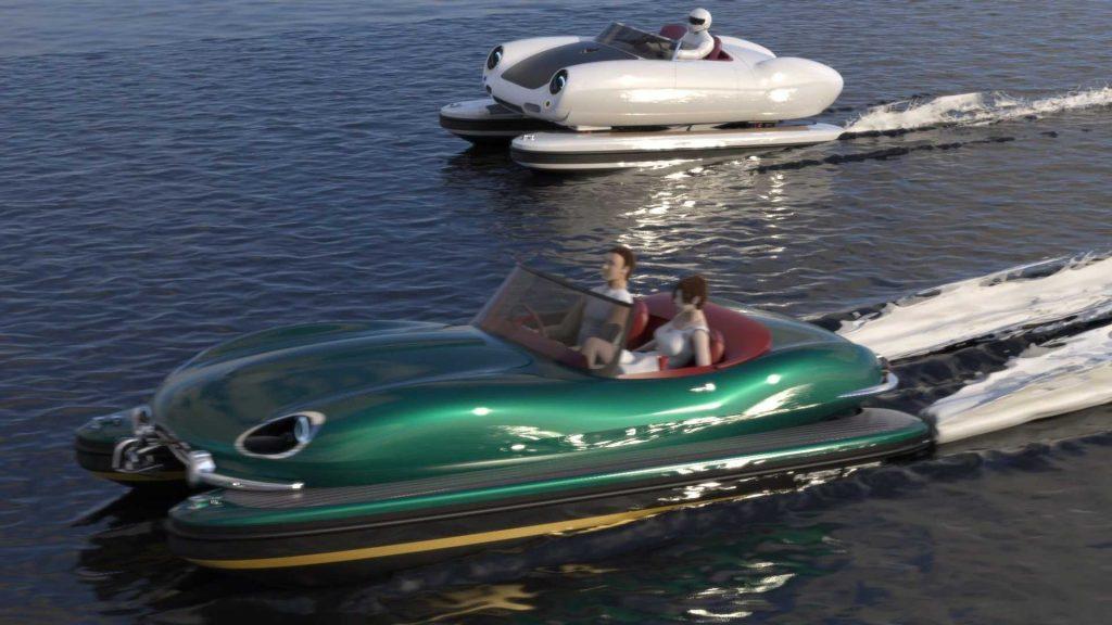 Floating Motors Retro-Floating boats