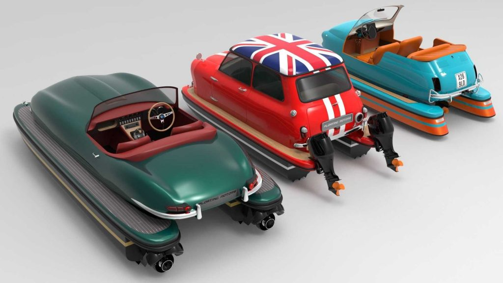 Floating Motors Retro-Floating boats   FM