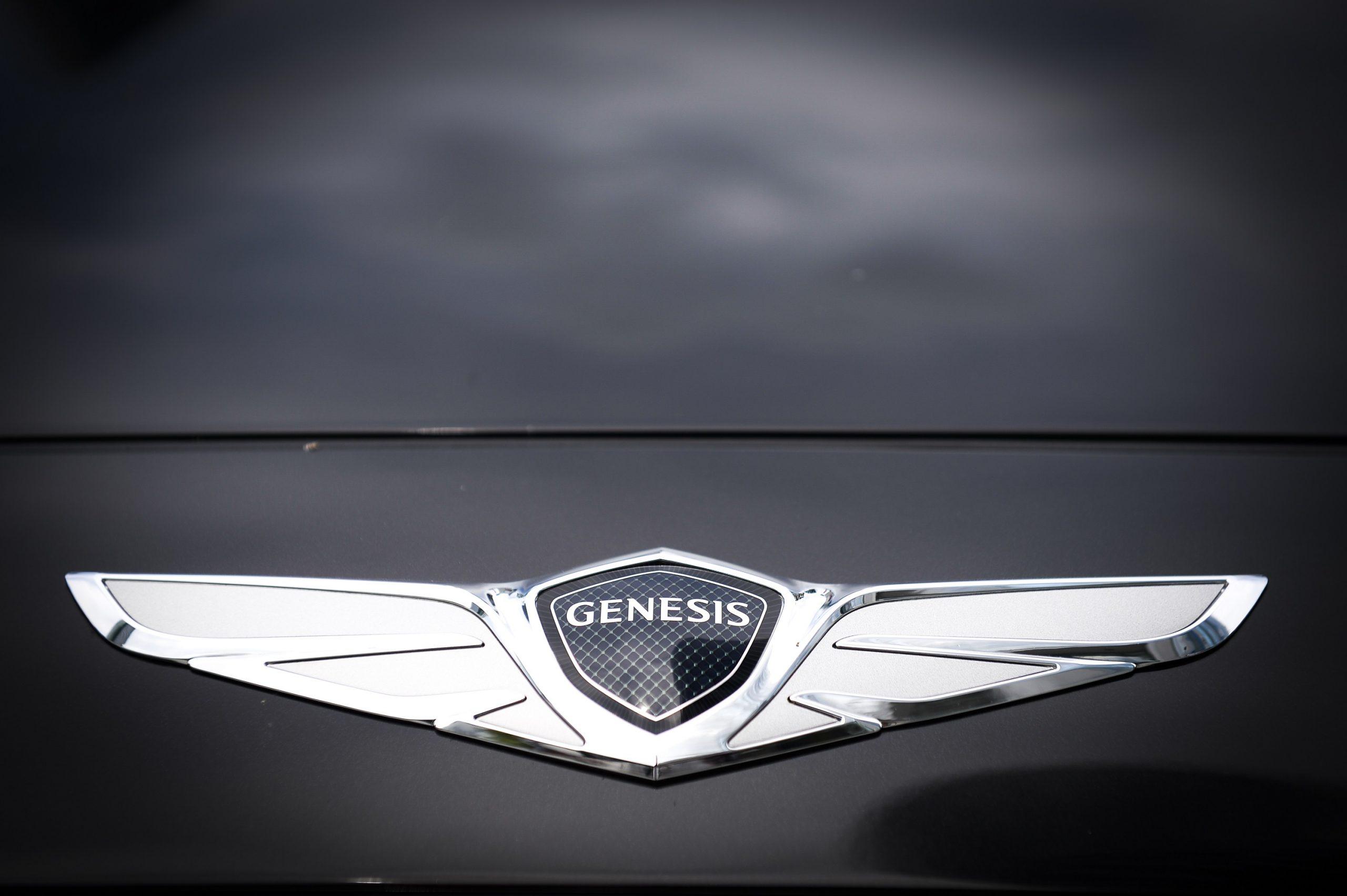 The winged Genesis logo