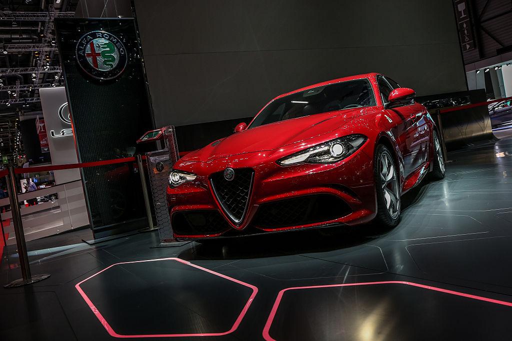 The Alfa Romeo Giulia
