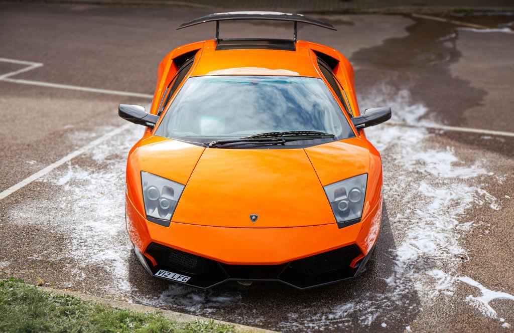 The Lamborghini Murcielago