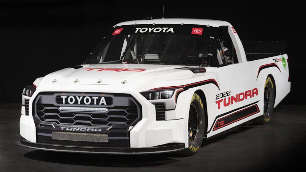 2022 Toyota Tundra TRD Pro NASCAR truck
