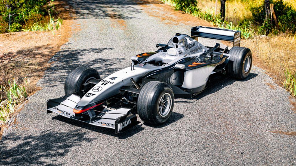McLaren F1 MP4 17D car