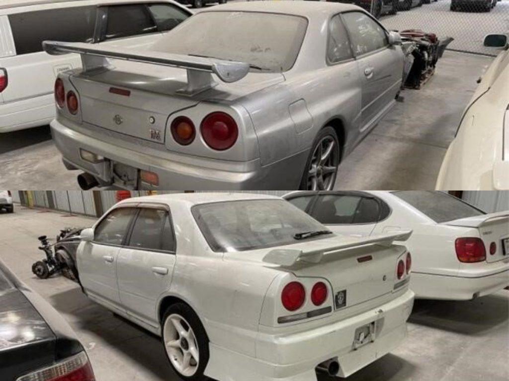 R34 Heaven: 20 Rare Seized JDM Cars