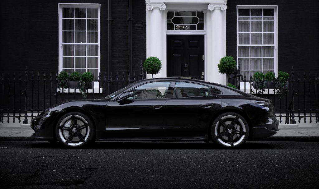 Porsche Taycan in London