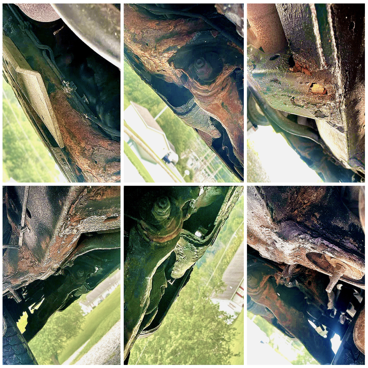 Toyota 4runner frame rust