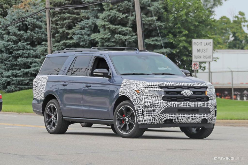 2022 Ford Expedition ST spy shots