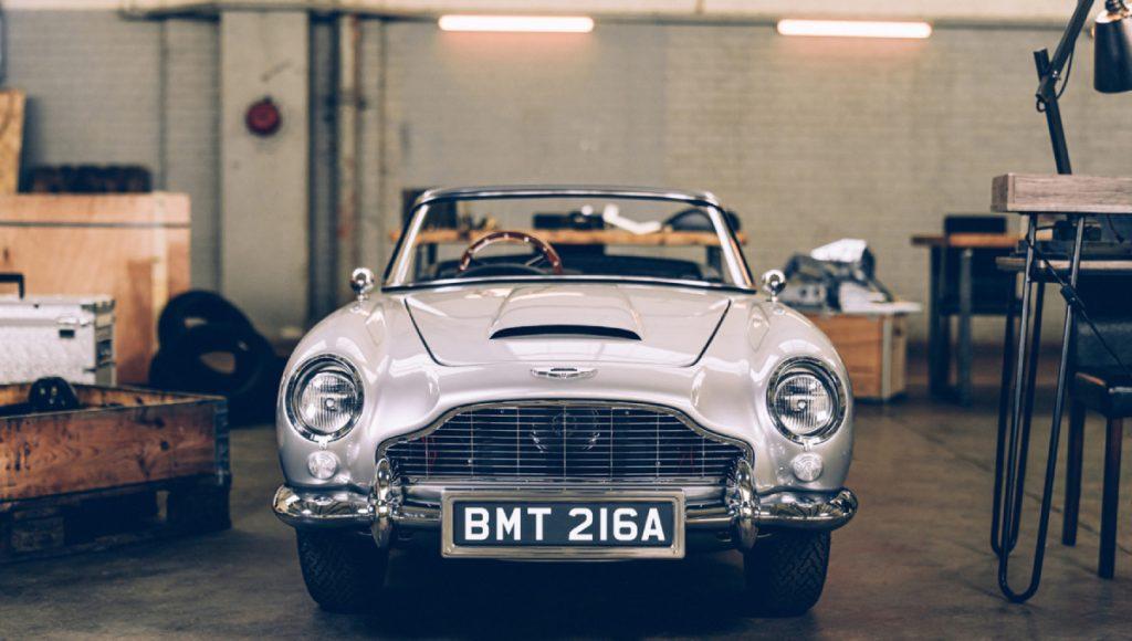 Aston Martin DB5 Junior is James Bond's favorite car