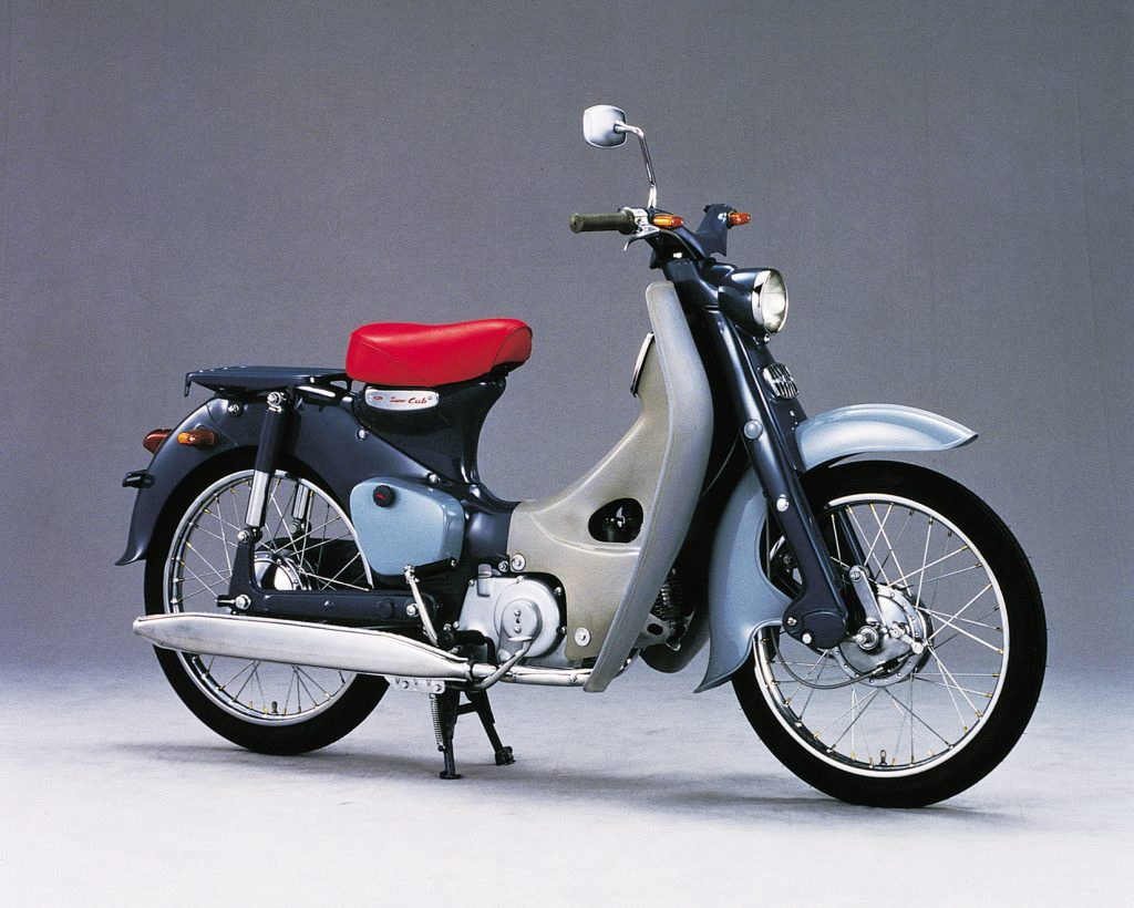 The Honda Super Cub Is The Best-Selling Motorcycle Ever Built