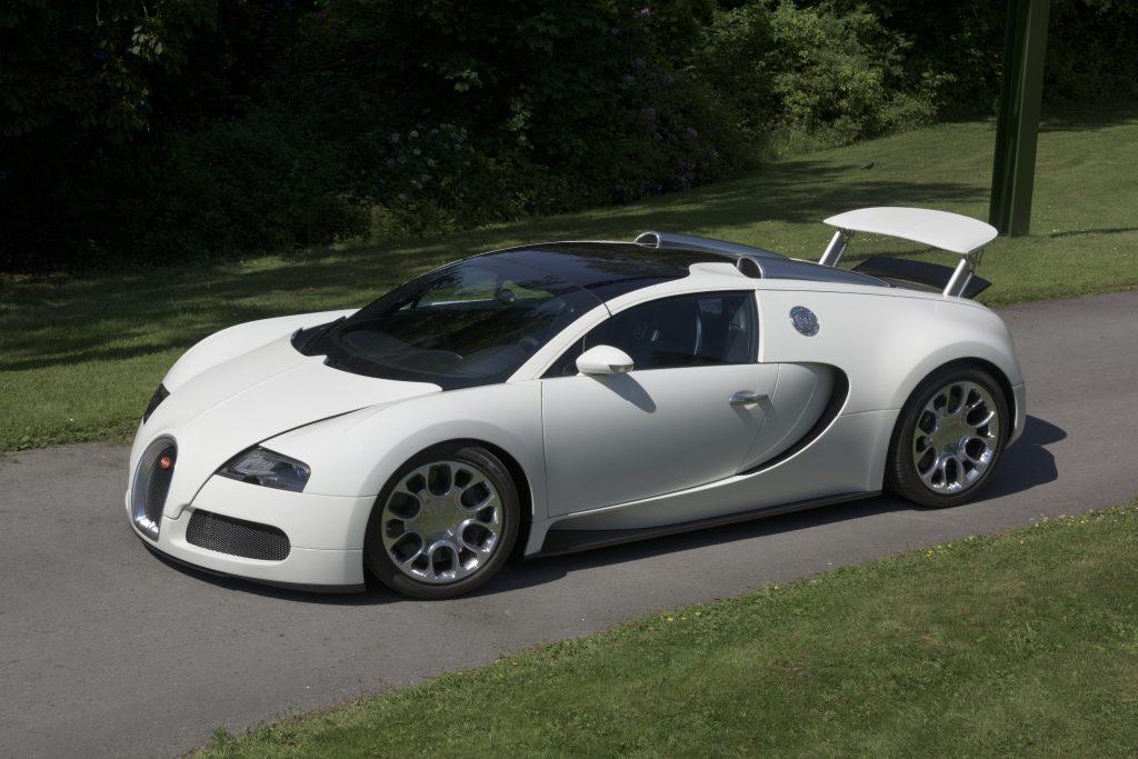 2009 Bugatti Veyron Grand Sport in white