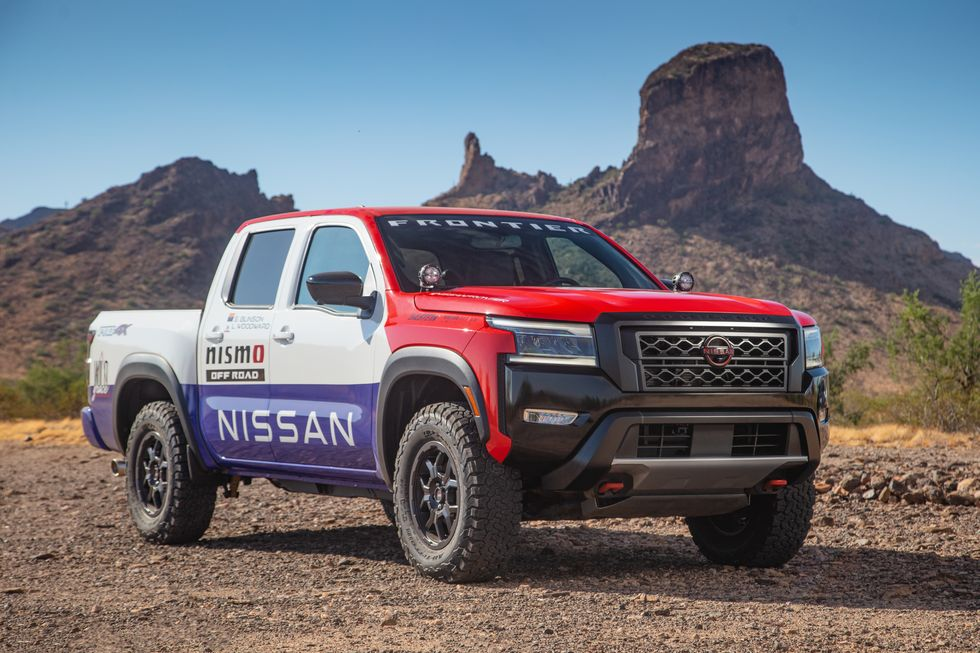 2021 Nissan Frontier NISMO for the Rebelle Rally