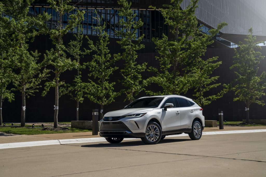 2021 Toyota Venza. Toyota, Ford, and Kia Won Big When Roadshow Dropped Its Best Midsize SUV List. Thanks to advanced technology, Toyota earned the best moments hybrid midsize SUV. | Toyota