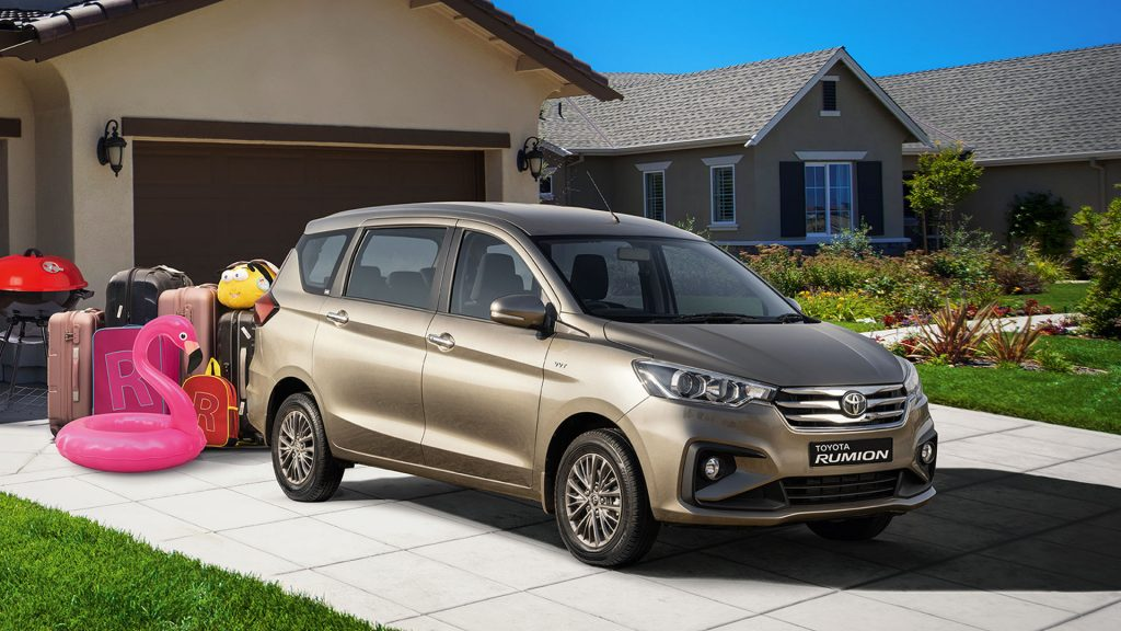 2022 Toyota Rumion van