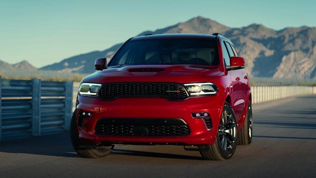 2022 Dodge Durango parked on pavement