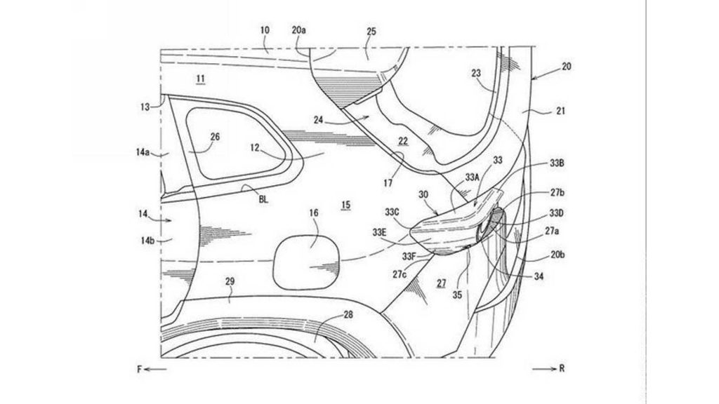 2023 Mazda CX-50 Patent Image leaked by Motor1