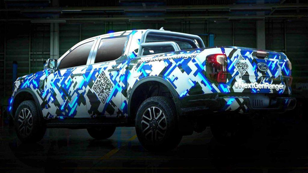 2023 Ford Ranger Teaser