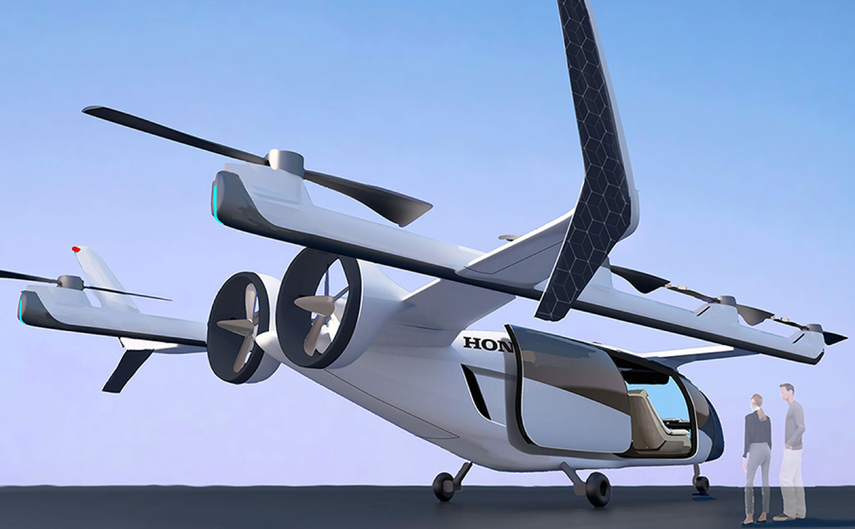 The Honda eVTOL rendering