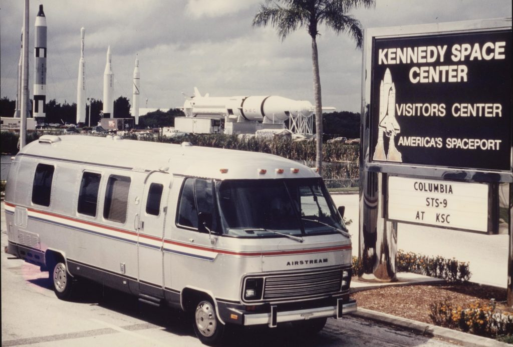 Astrovan Made From Airstream RV At NASA's Kennedy Space Center