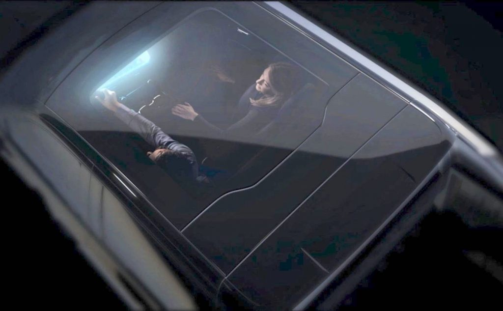 Chevy Silverado E glass roof