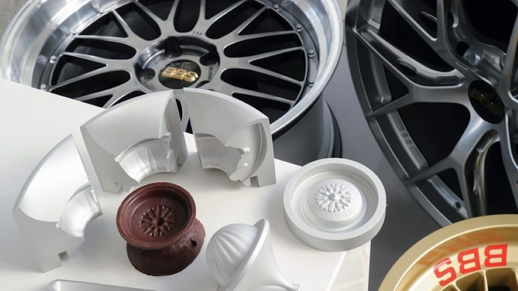 Chocolate wheels, molds, and BBS wheels