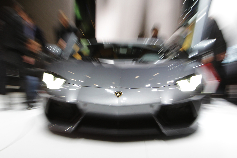 The Lamborghini Aventador belonging to Matt Heller sideswiped an Audi and the drama unfolded on TikTok.