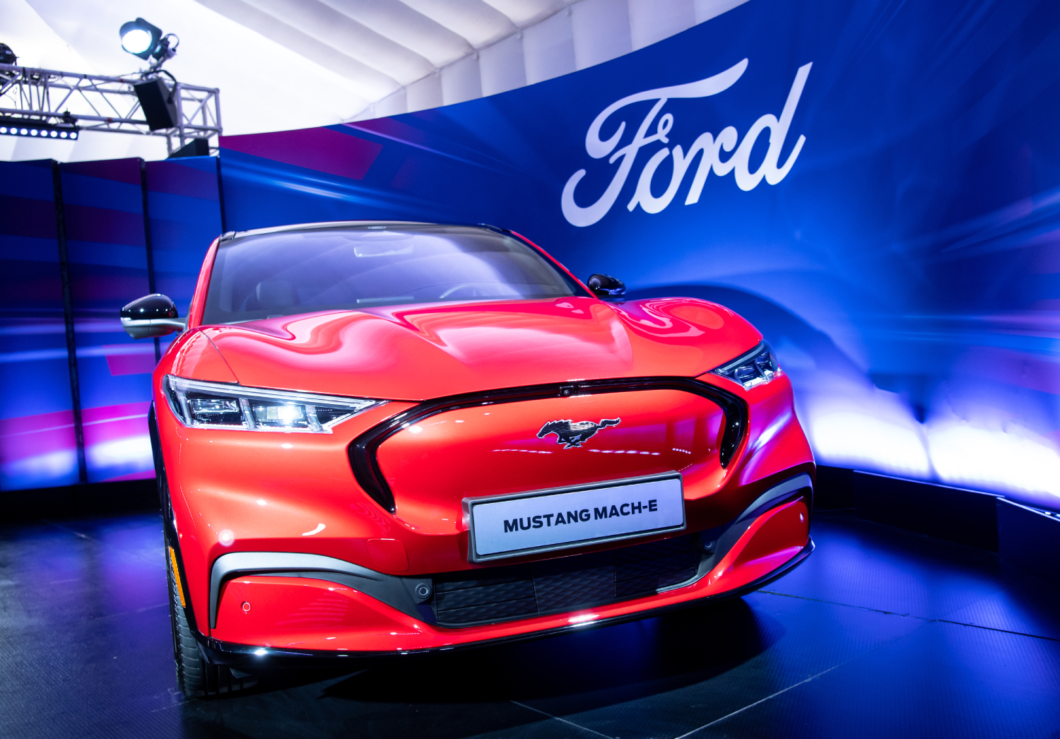 Ford Electric Vehicle Chargers for the Mustang Mach-E