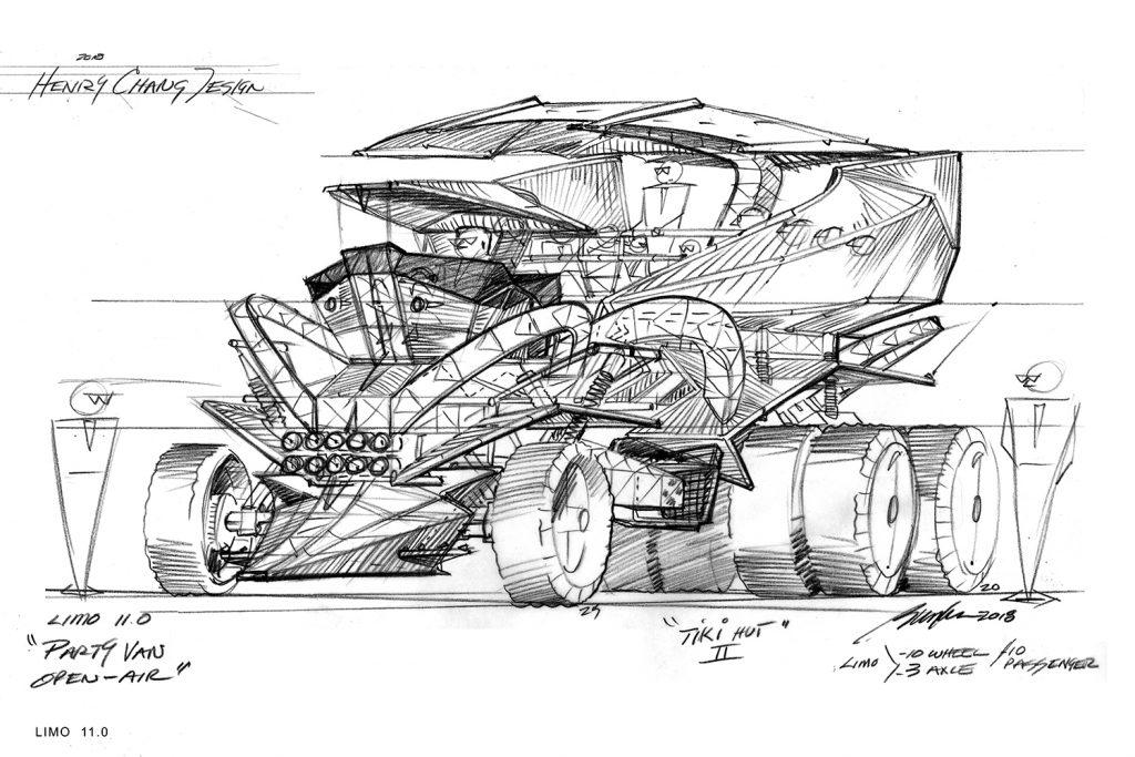 Henry Chang art car