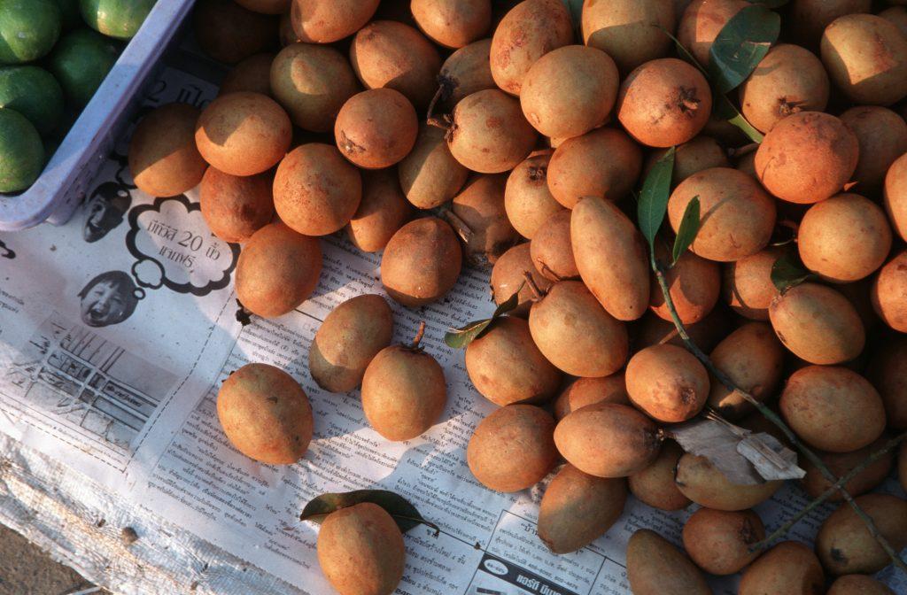 Lamyai fruit for sale in Thailand