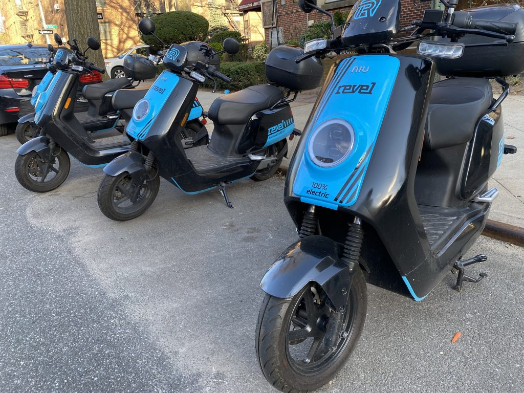 Revel Electric Moped Rideshare Service