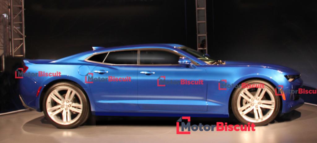 Camaro sedan proposal | MotorBiscuit