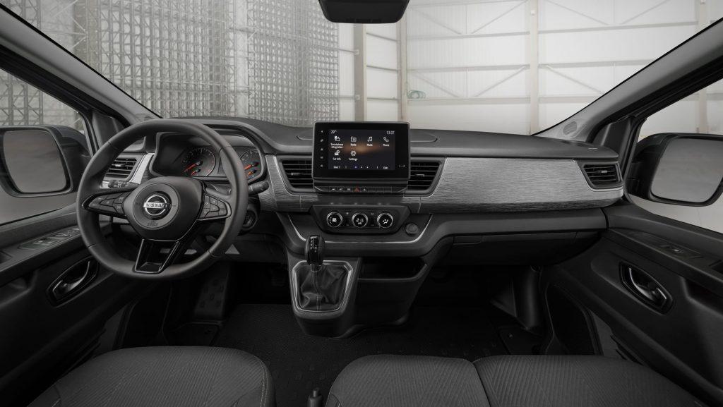 Nissan Townstar interior
