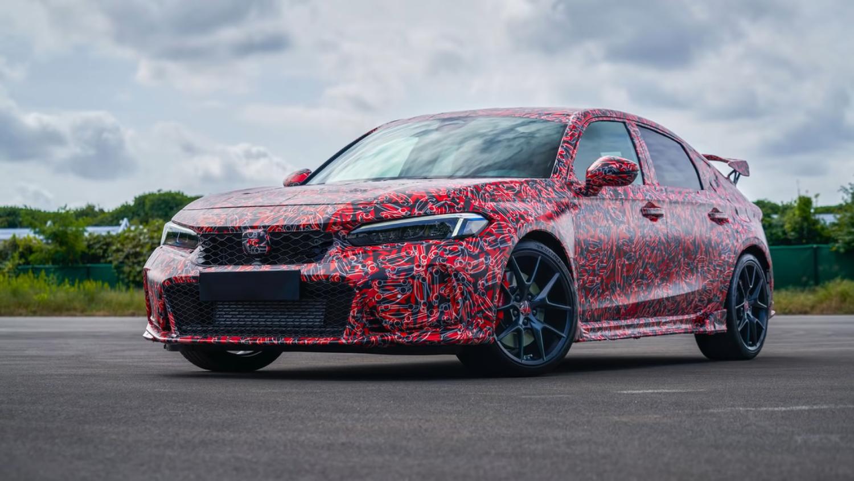 The new 2023 Honda Civic Type R