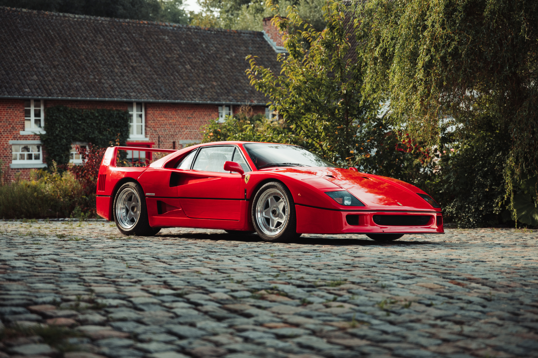 This Ferrari F40 Berlinetta Sold for $2.1 Million