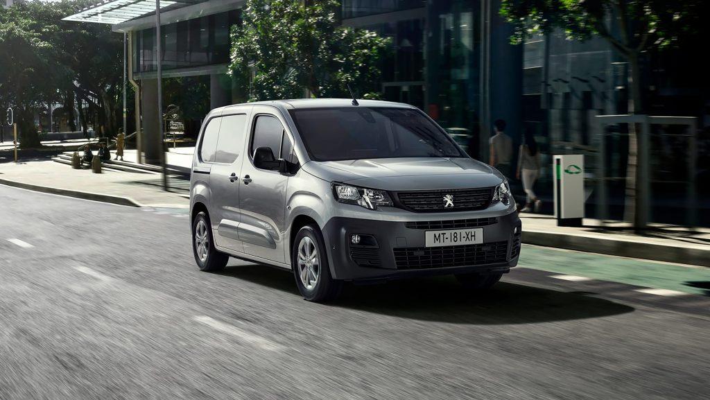 Peugeot e-Partner panel van