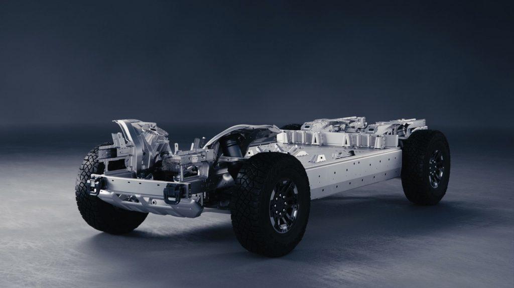Electric Chevy Silverado Ultium platform